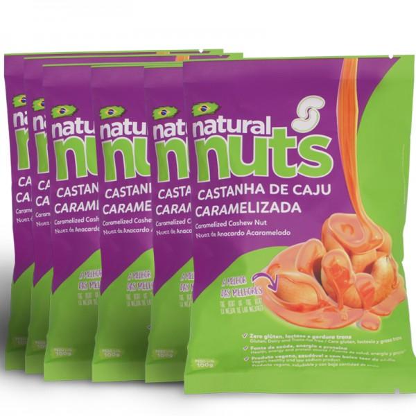 Kit 6x Bags 100g Caramelized Cashew Nut
