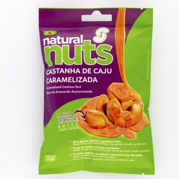 Caramelized Cashew Nut Bag 100g
