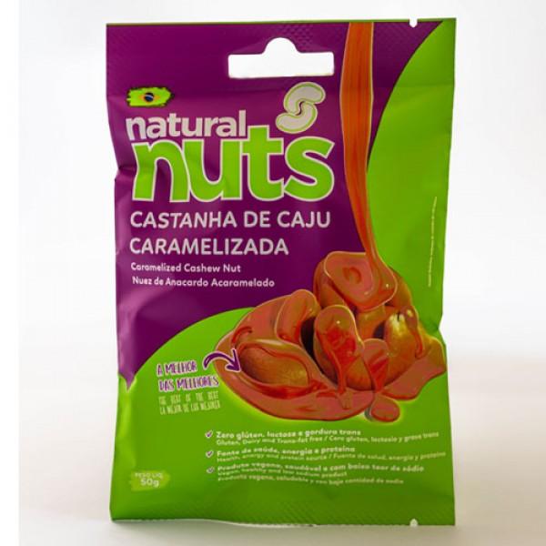 Caramelized Cashew Nut 50g Bag