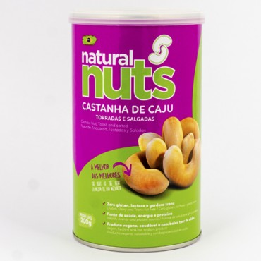 Roasted and Salted Cashew Nuts 200g