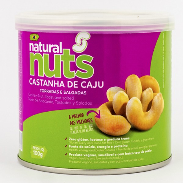Roasted and Salted Cashew Nuts 100g