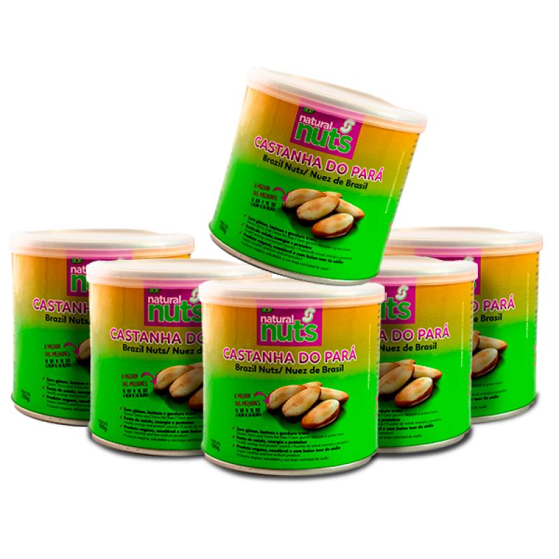 Kit 6x Cans 100g Brazil Nut