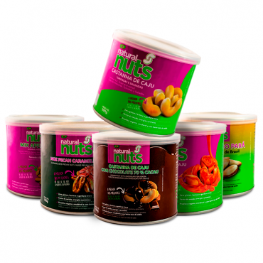 Kit Cans 100g with all flavors
