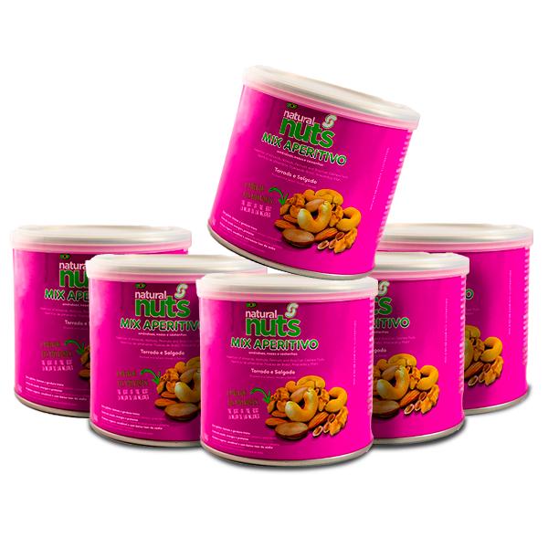 Kit 6x Cans 100g MIX Appetizer