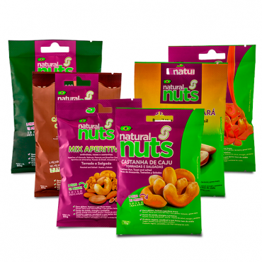 Kit Chestnuts 50g with all flavors