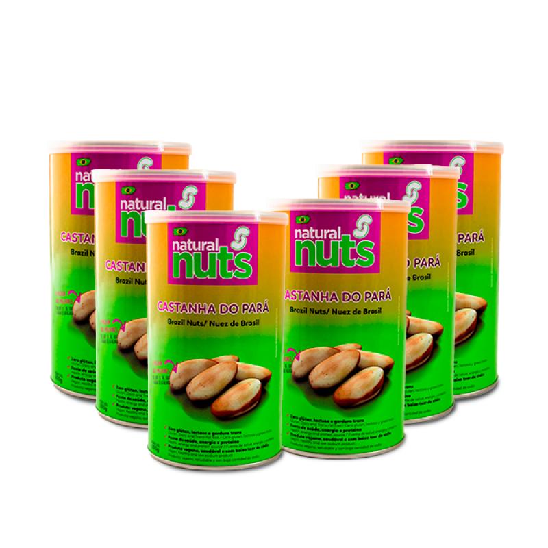 Kit 6x Cans 200g Brazil Nut
