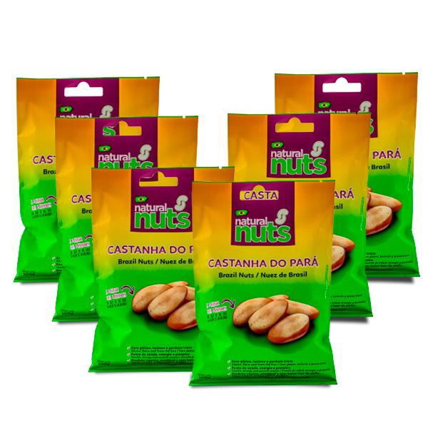 Kit 6 Bags 100g Brazil Nut