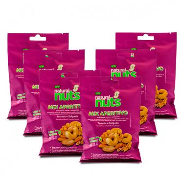 Kit 6x Bags 100g MIX Appetizer