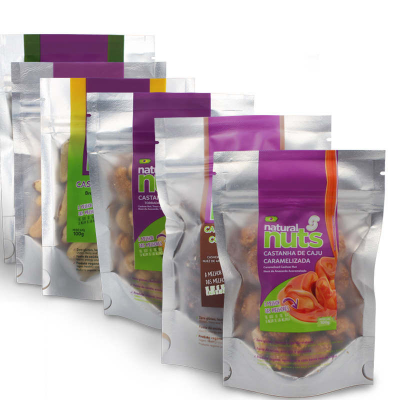 Ziplock Kit with all flavors