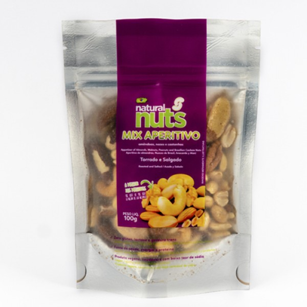 Ziplock Appetizer Mix 100g