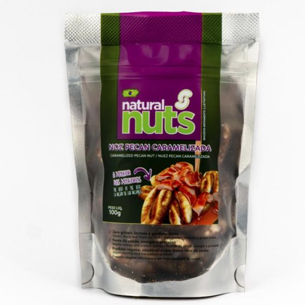 Ziplock Caramelized Pecan Nut 100g